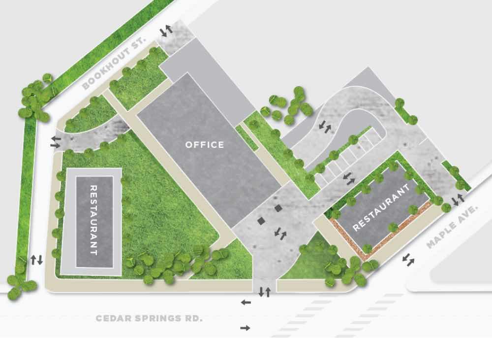 23 Springs Aerial Map